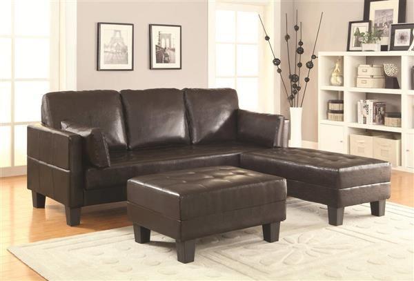 coaster furniture ellesmere brown sofa bed home pinterest faux rh pinterest com