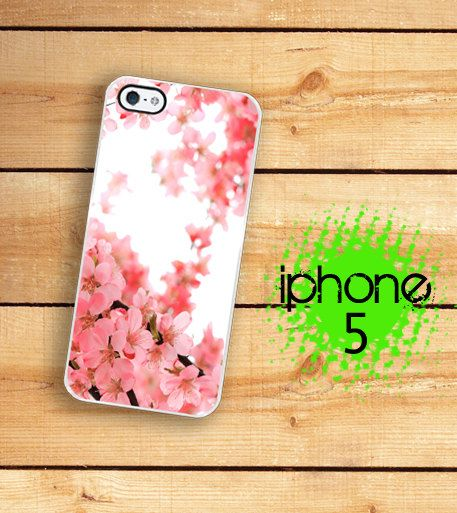 IPhone 5 Case - Pink Cherry Blossom Japanese Cherry Blossom Tree Branch cute