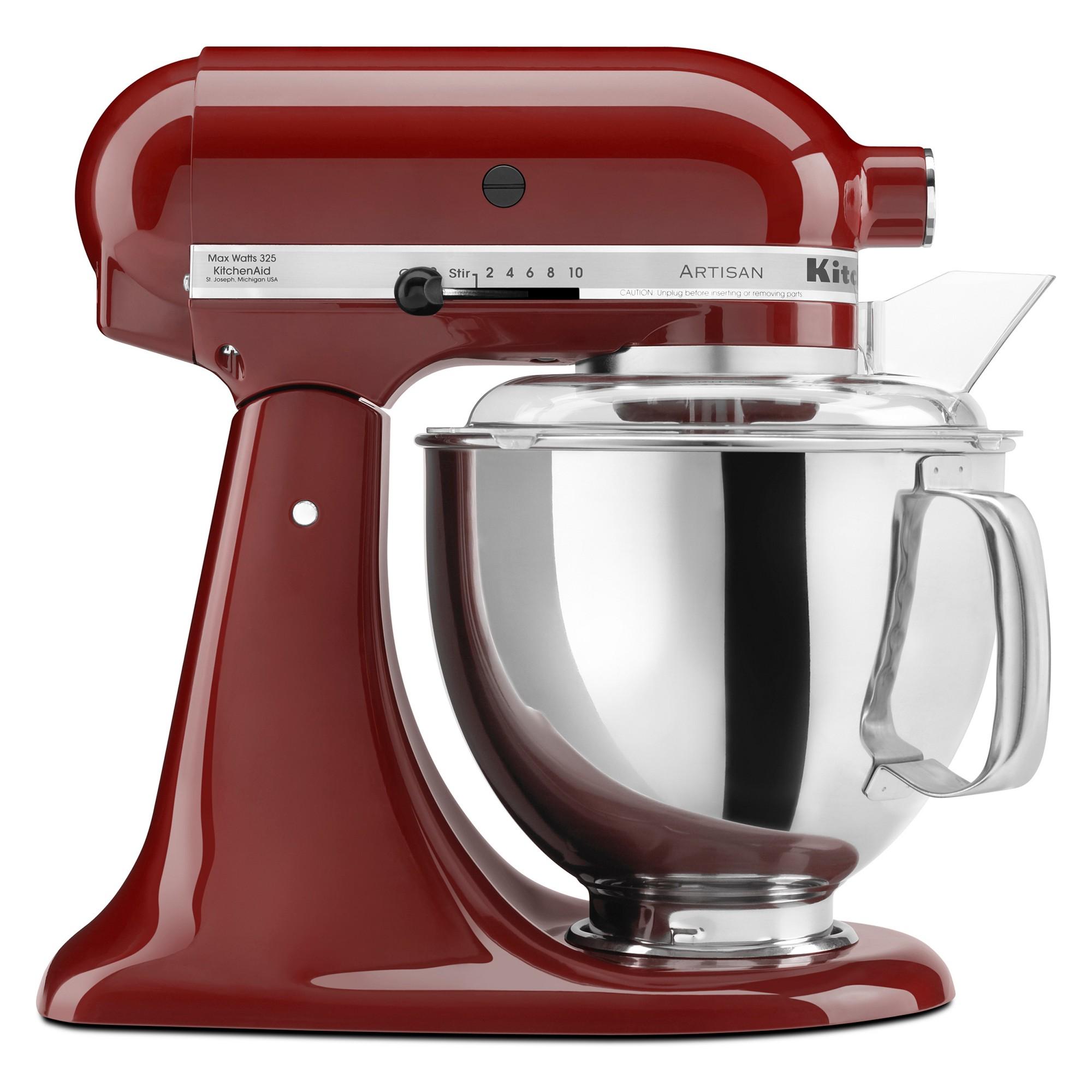 kitchenaid refurbished artisan series stand mixer deep red rh pinterest co uk