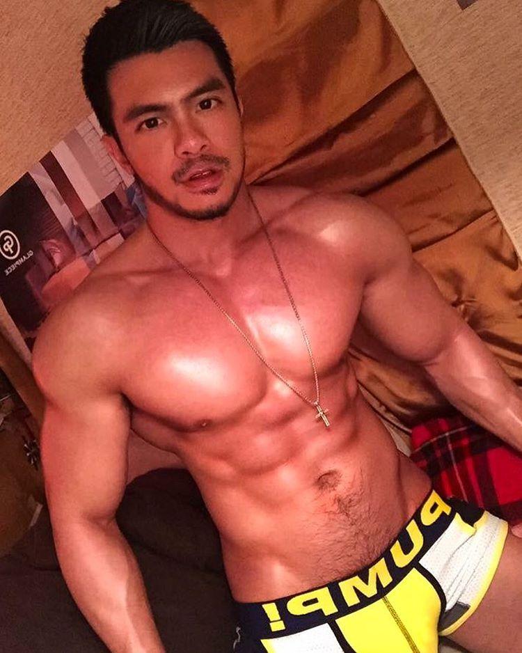 Nude malaysian hunk