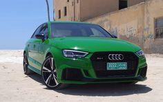 Scarica Sfondi Audi Rs3 4k 2018 Auto Verde Rs3 Deserto Le Auto