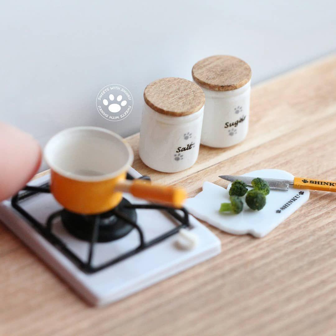 2018 03 Miniature Cooking Kitchen Set By Shinku Miniatures