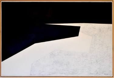 "Saatchi Art Artist The Cave Artist Tobias Wilkinson; Painting, ""Ringstead Bay"" #art"