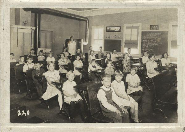 One Room School House Classroom Grandmas One Room Schoolhouse