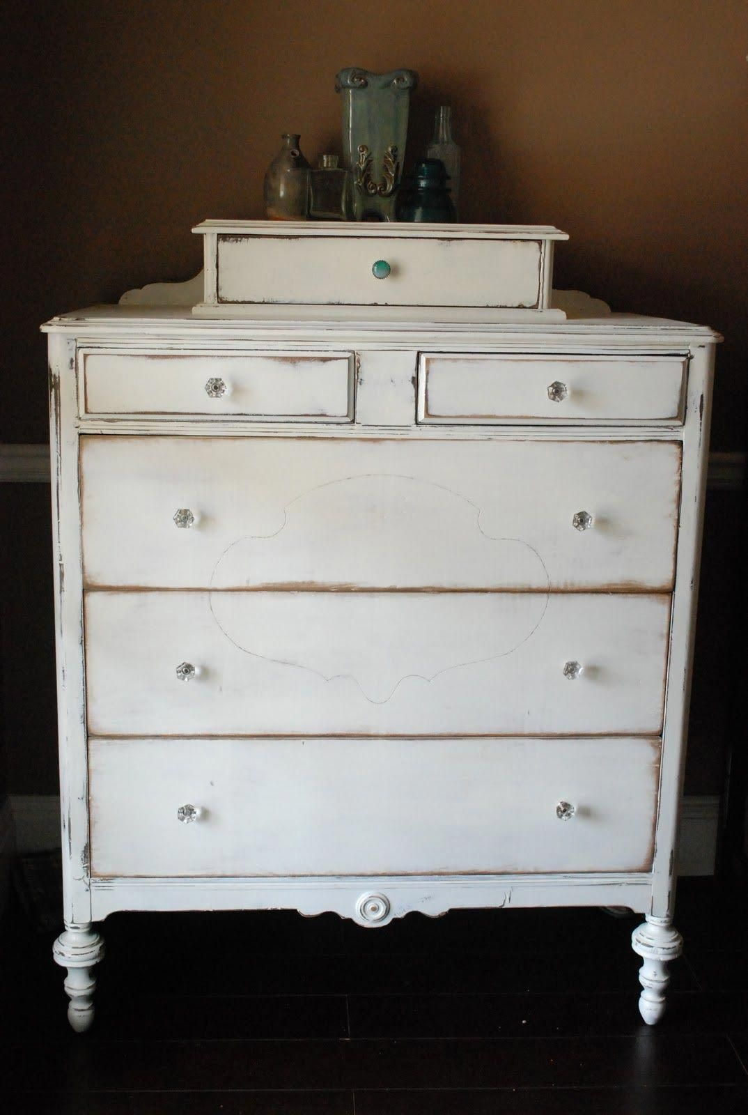 between blue and yellow before after white dresser rh pinterest com