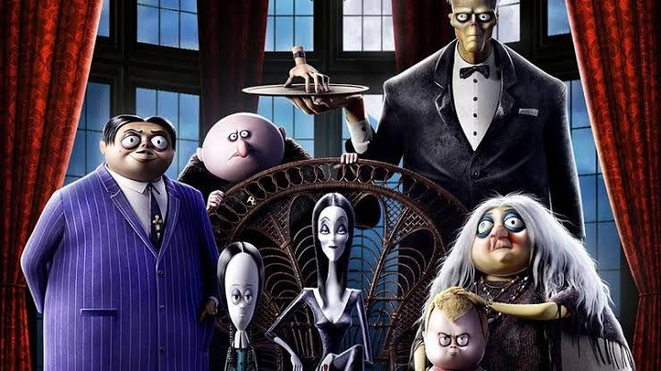 First Poster From The Addams Family Released New Animation Movies Best Kid Movies Animated Movies