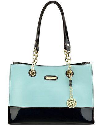 Anne Klein In Full Bloom Small Chain Tote - All Handbags - Handbags & Accessories - Macy's