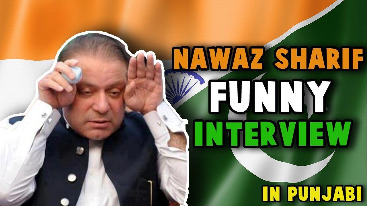 Very Funny Interview with Pakistan PM Nawaz Sharif | BeingPunjabi | Funn...