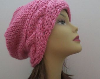 Hat Knitting Pattern to Make 36 Different Hats Slouch Hat ...