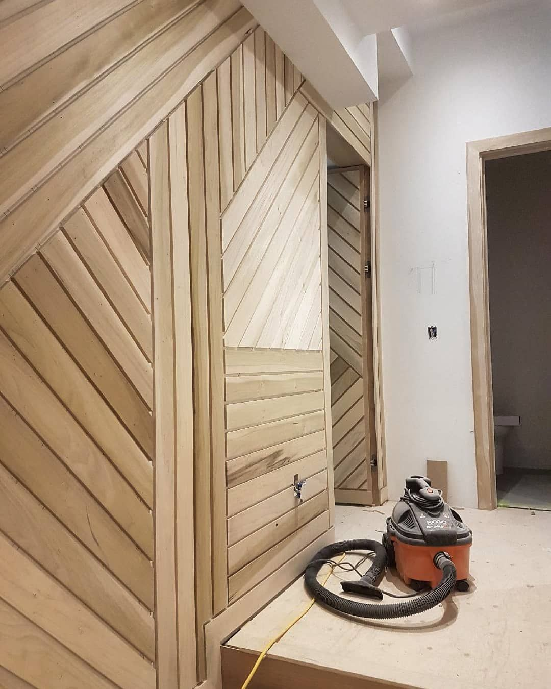 """Custom Home Designs Toronto: Aaron Maher On Instagram: """"Feature Wall 📸 @miter_masters"""