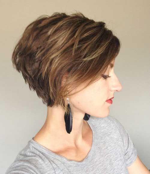 Épinglé sur coiffure courte