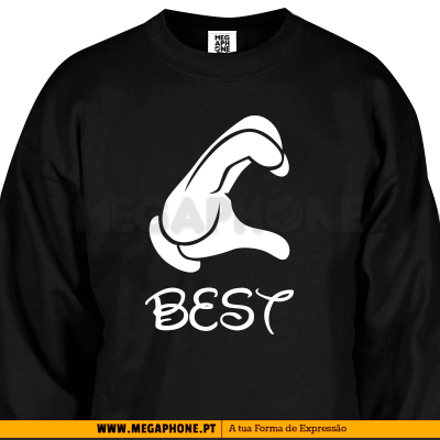 B Friend shirt BFF melhores amigas