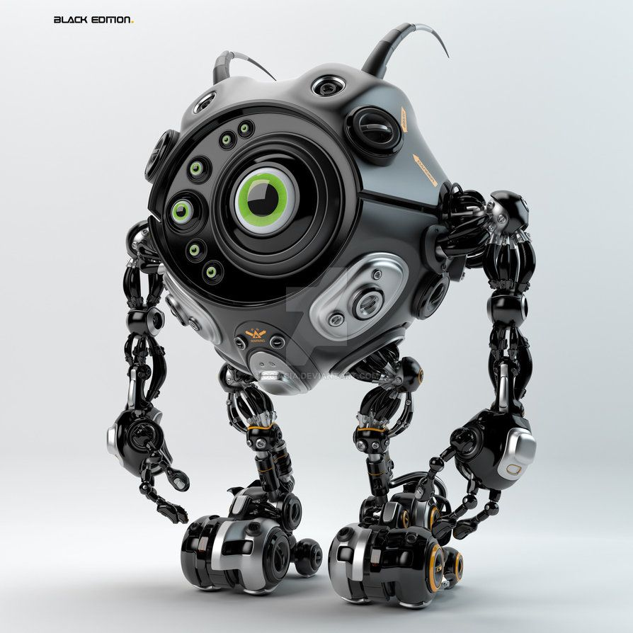 Beetle-like robotic creature by Ociacia on DeviantArt