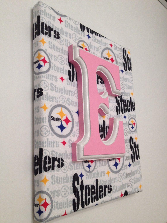 97239391 NFL Canvas NFL Sports Nursery Man Cave Wall by ChellesCraftShoppe, $13.50