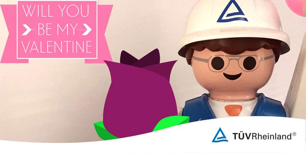 Our Playmobil is the perfect Valentine! #Playmobil #Loveisintheair #ValentinesDay