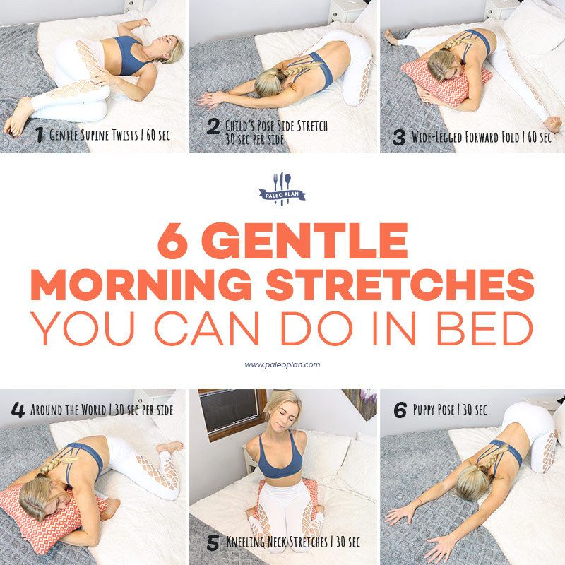 Morning Stretching Routine for When It's Too Cold to Get