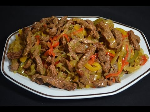 Beef and tasty fajitas recipe - YouTube #beeffajitarecipe Beef and tasty fajitas recipe - YouTube #beeffajitarecipe