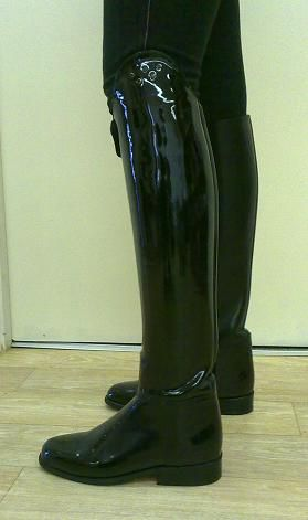 fetish boots Leather riding