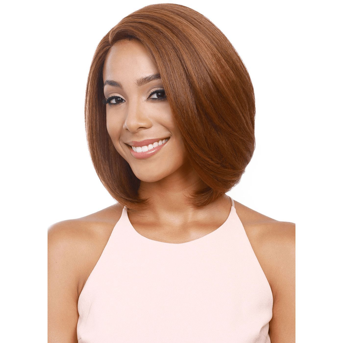 Bobbi Boss Synthetic Swiss Lace Front Wig MLF123 Millie