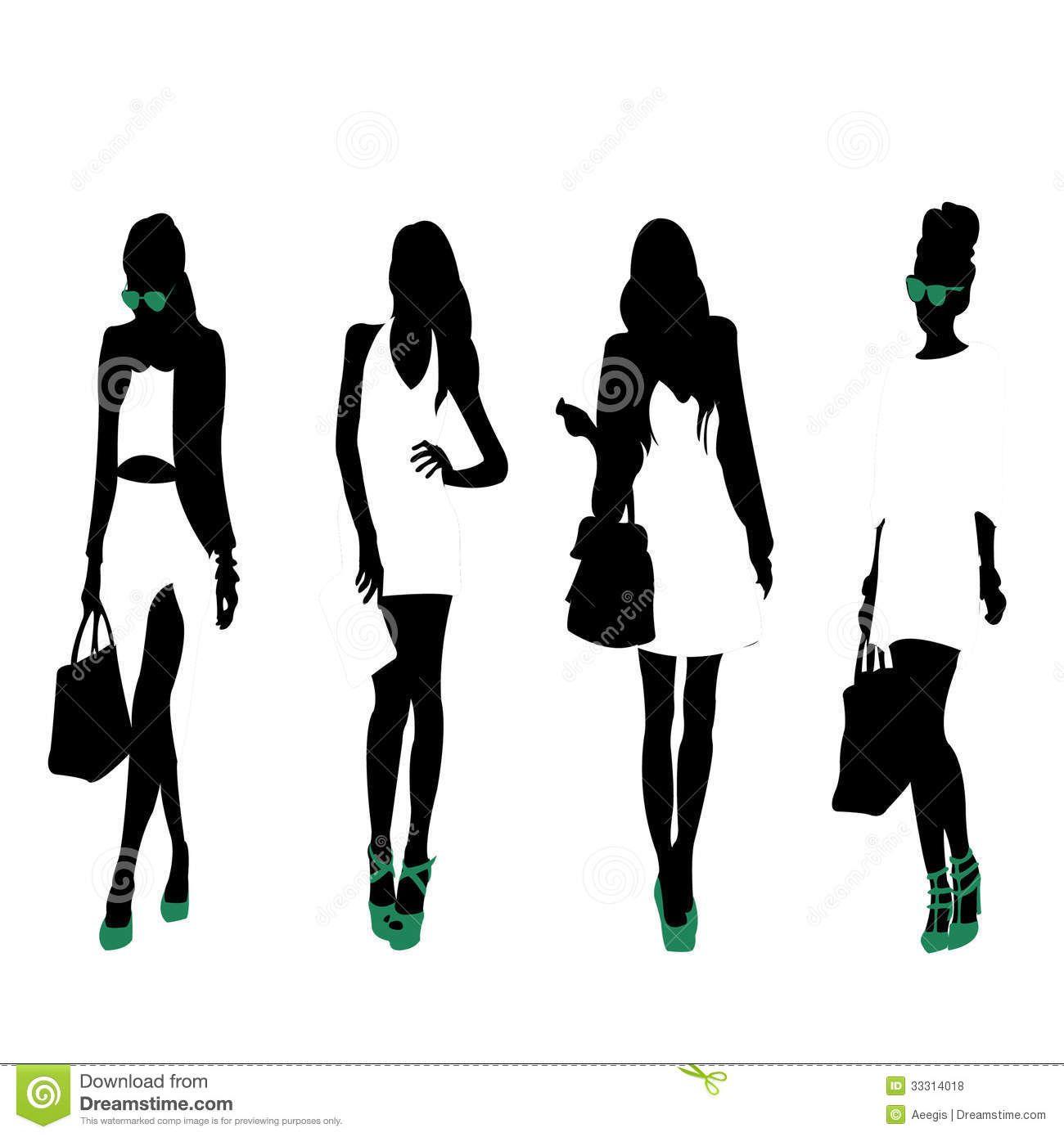 fashion silhouette woman - Google Search | Fashion ...