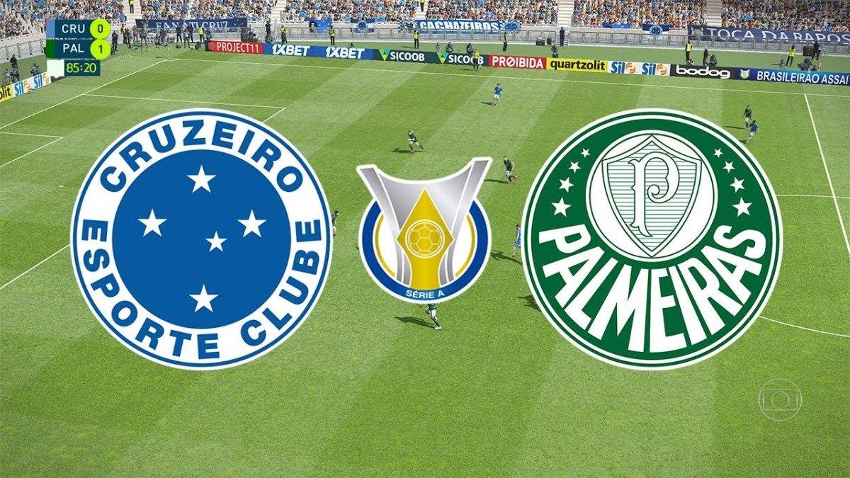 Assista AGORA Cruzeiro x Palmeiras AO VIVO Online grátis