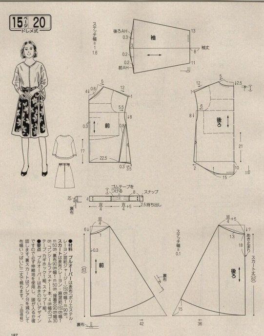 Pin de Nhi Bui en blouse i like | Pinterest | Patrones faciles ...