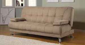sofa bed modern futon cheap sofa guest room click clack rh pinterest com