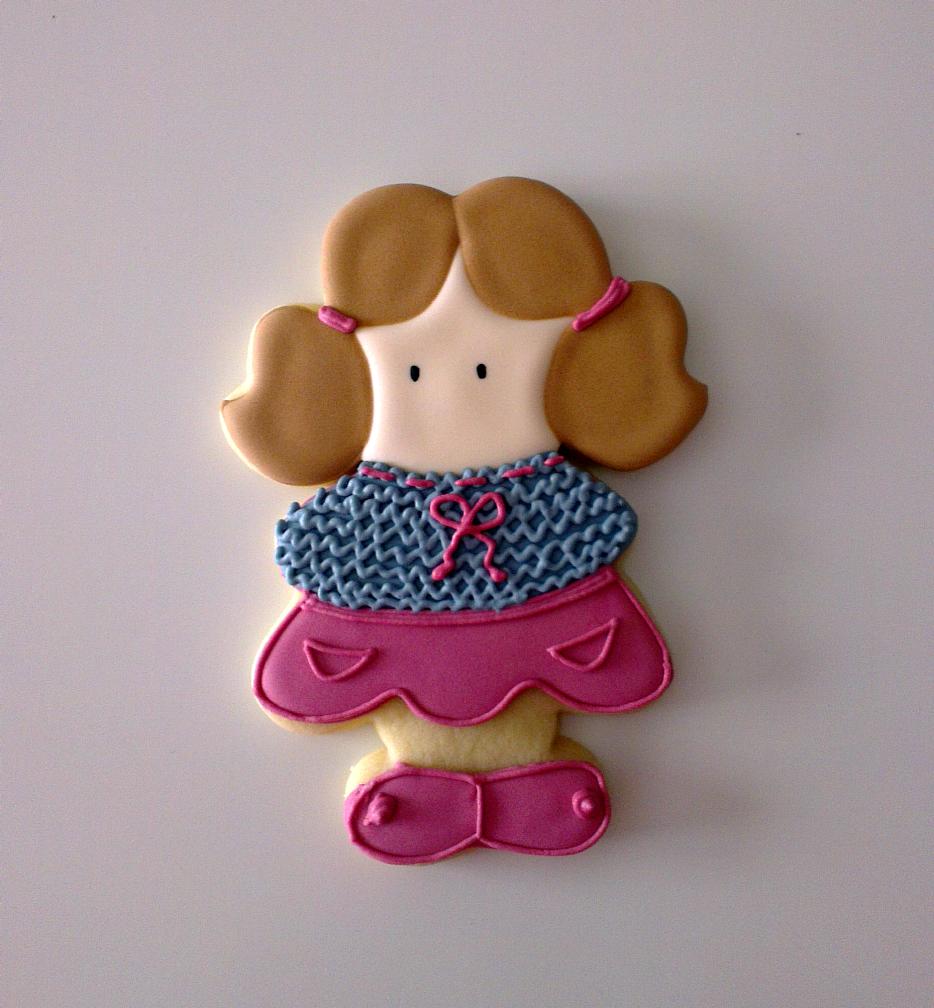 ♥ Galletas decoradas: Las niñas guardan su ropa de verano!