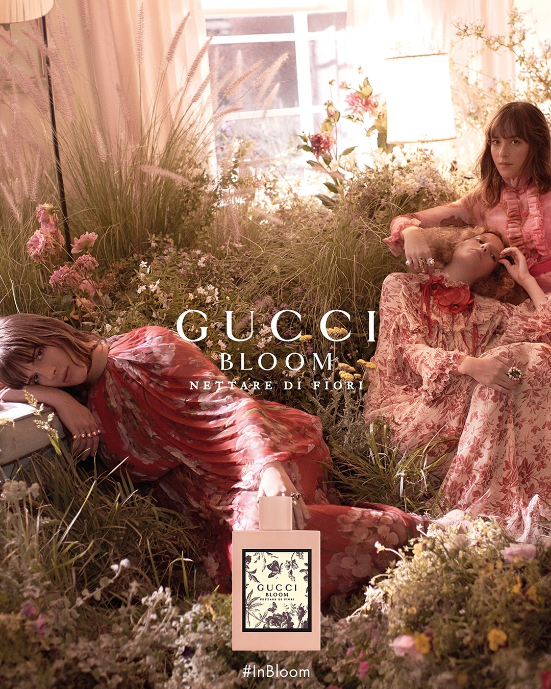Gucci Bloom Nettare Di Fiori | Fragrance, Fragrance campaign, Bloom