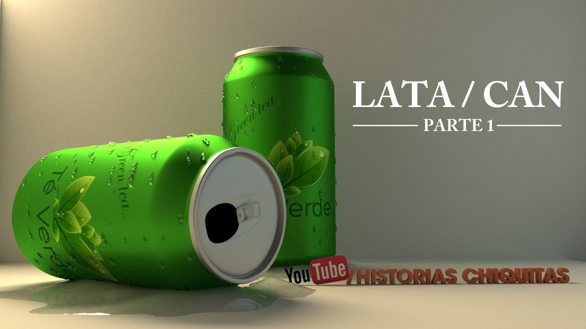 Tutorial 3D Lata de refresco soda