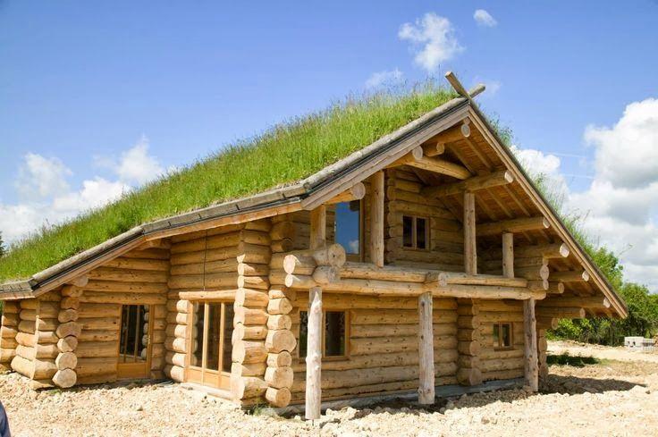 Les fustes des maisons en rondins de bois Maison en rondins, Rondin et Rondin de bois # Maison En Rondin De Bois Clé En Main