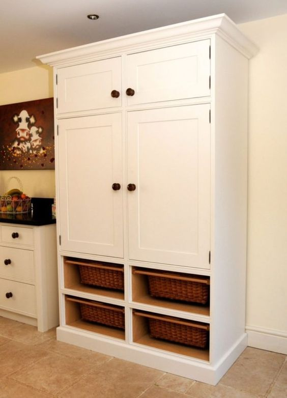 Kitchen Freestanding Pantry Ideas Freestanding Pantry Cabinet For ...
