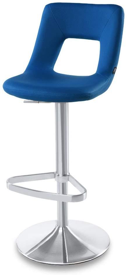 amazon zuri furniture dark blue jazz adjustable