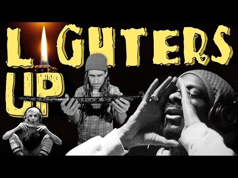 """Walk Off The Earth & Snoop Dogg ~ """"Lighters Up"""". Quirky song, but this group is always impressive -- and just plain fun!"""