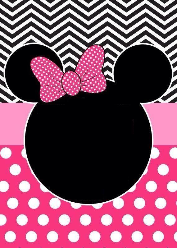 Pin De Lourice Miller En Party Ideas Invitaciones Minnie