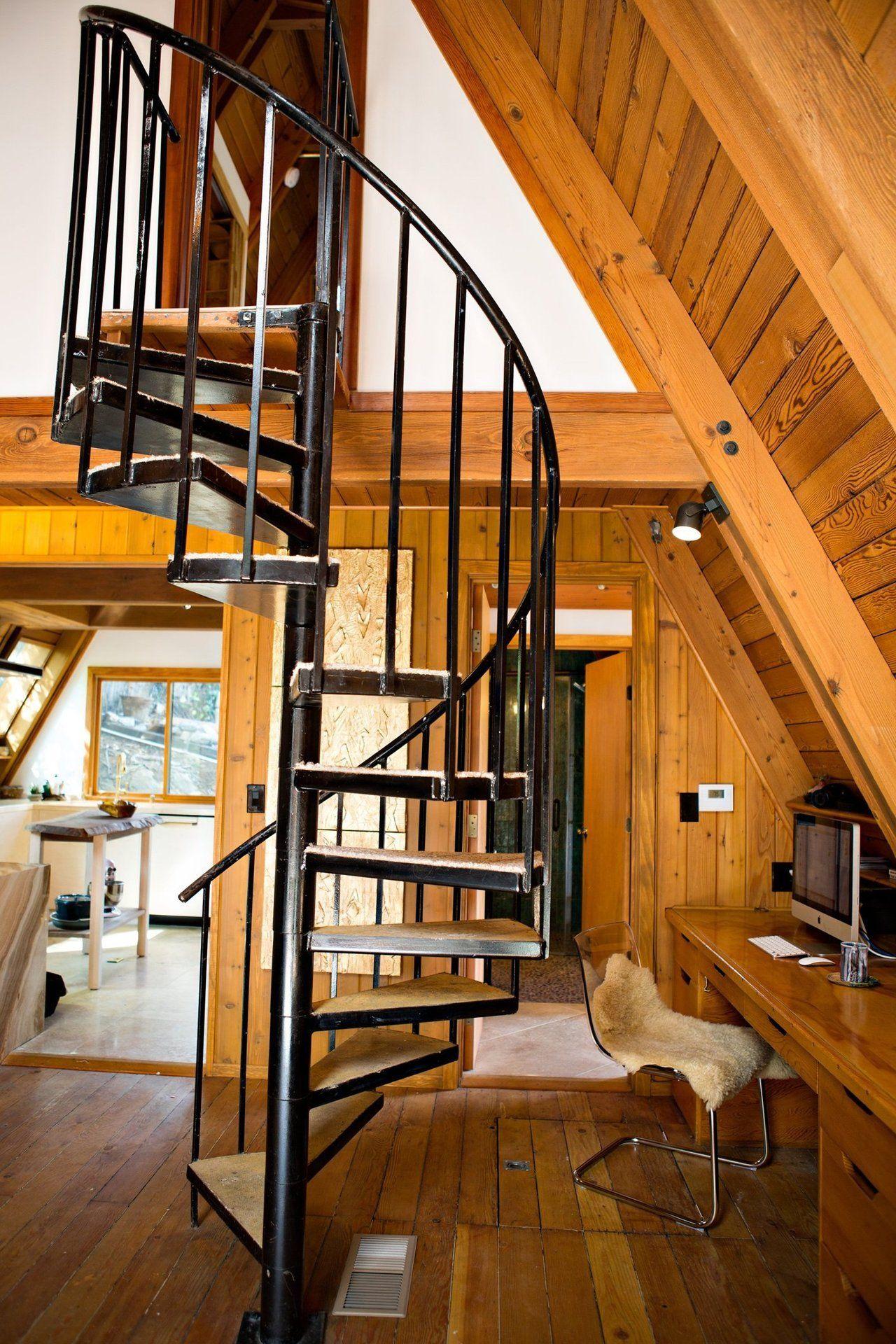 home interior design stairs%0A Chalet interior