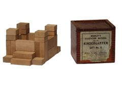 Froebel Gifts that Frank Lloyd Wright promoted - possibly ...