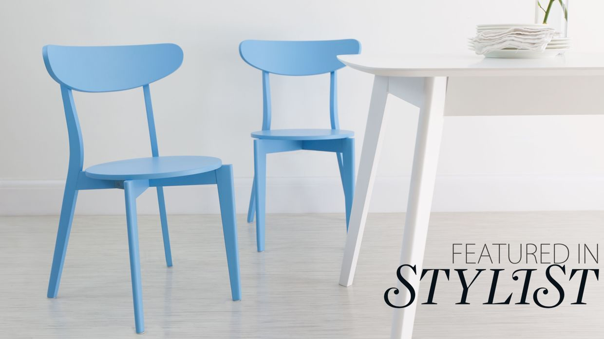 Senn Colourful Dining Chair | Dining chairs, Kitchens and Cafe design