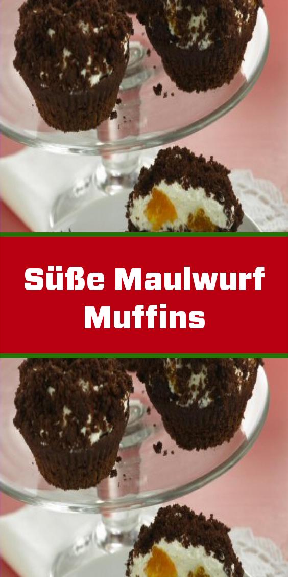 Süße Maulwurf Muffins