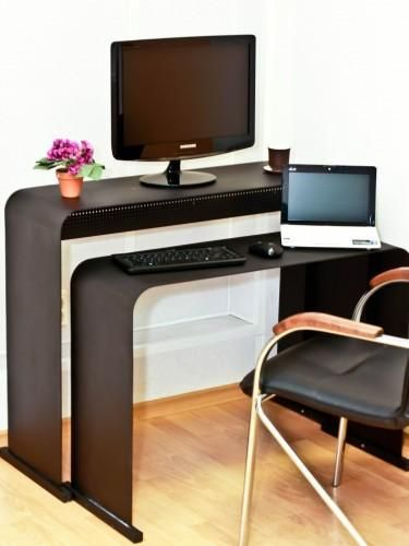 Home Office Contemporary Design Using Big Concepts For Small