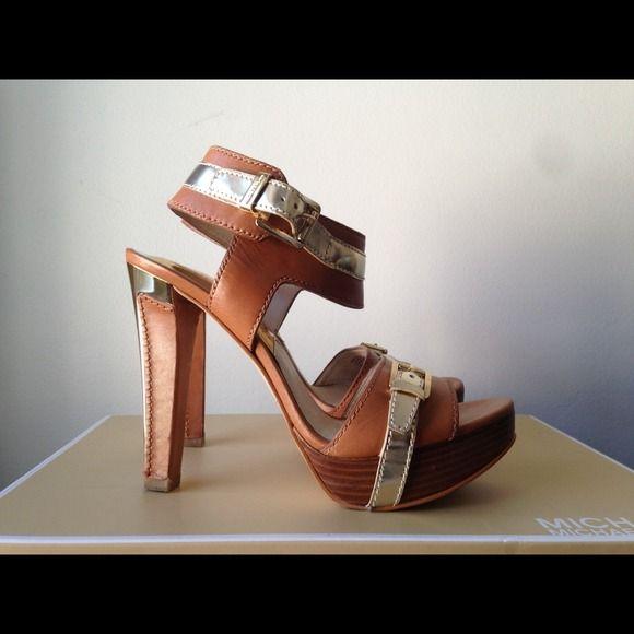 "Selling this ""Michael Kors heels 8"" in my Poshmark closet! My username is: thattlindsay. #shopmycloset #poshmark #fashion #shopping #style #forsale #Michael Kors #Shoes"