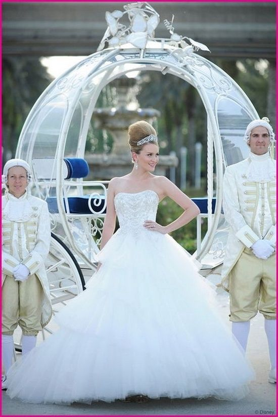 Cinderella wedding dress and carriage by Janny Dangerous | wedding ...