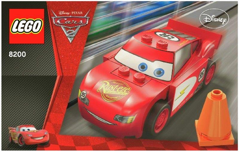 Lego Lightening Mcqueen Instructions Lightning Mcqueen Lego Lego Cars