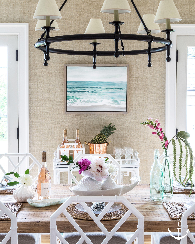 sea girt retreat beach house interior design coastal art and rh pinterest com