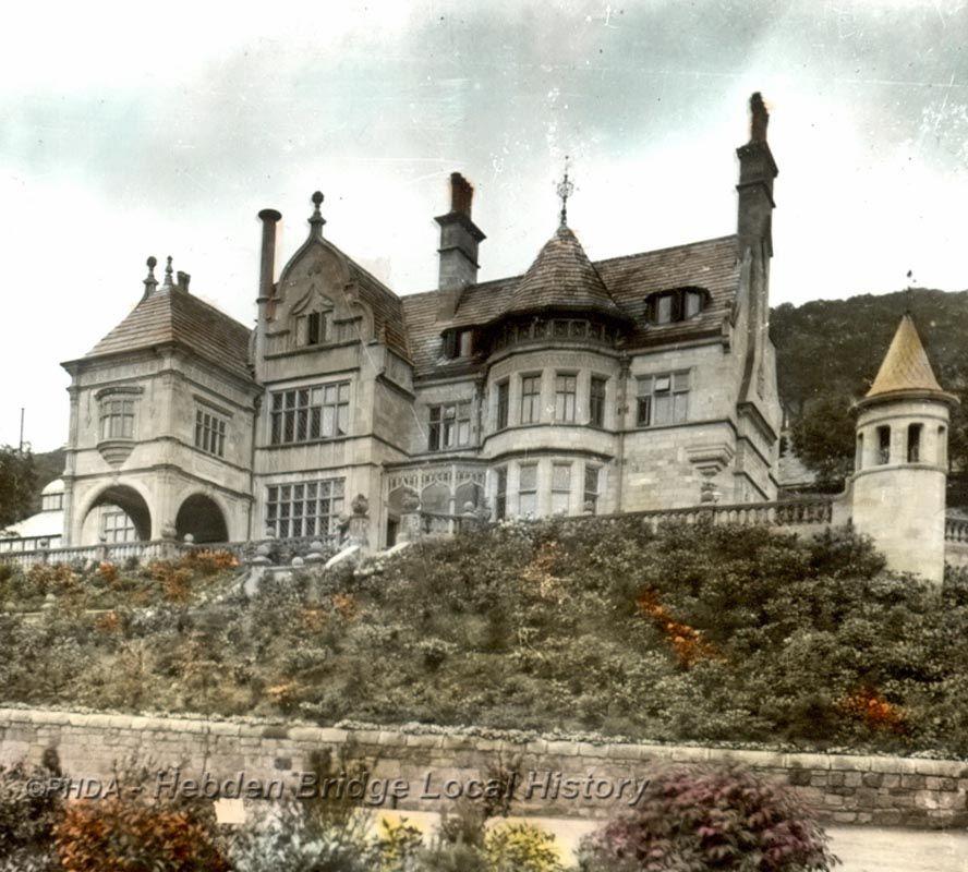 Grand Villa By Wood Mode: UK Cragg Vale Edgar Wood New Cragg Hall