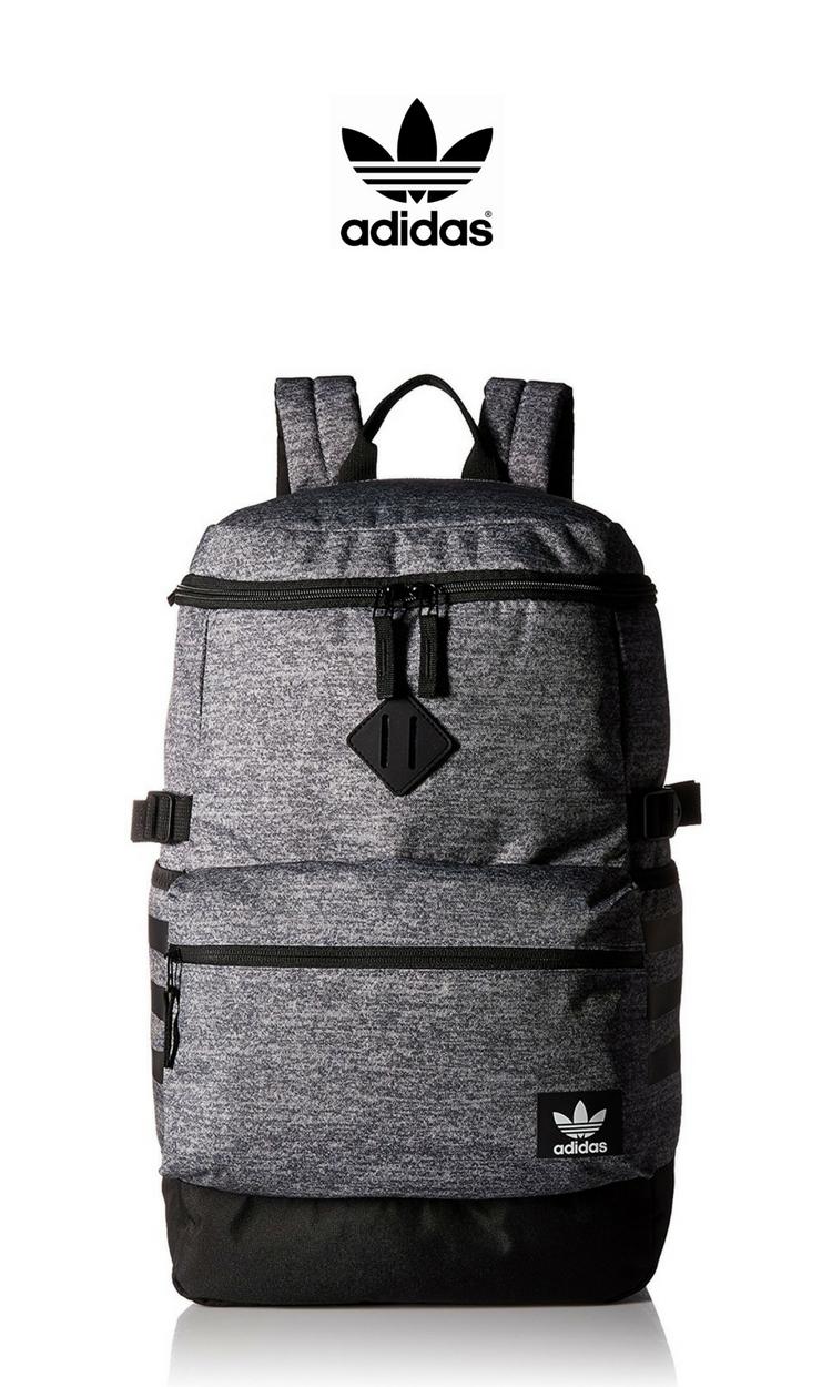 a98b97152b Adidas - National Zip Top Backpack | Click for Price and More | #Adidas  #National #Backpack #FindMeABackpack
