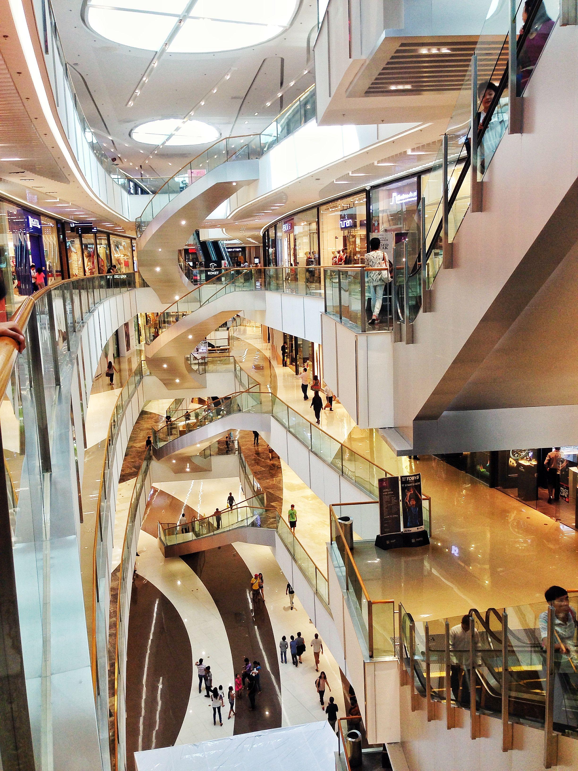 Retail design shopping mall mall atrium layout sm aura - Interior design shopping websites ...