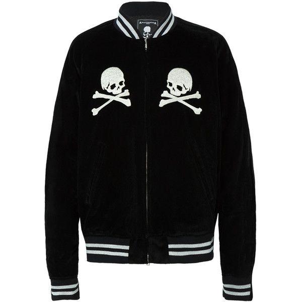 MASTERMIND WORLD Skull Detail Varsity Jacket ($5,000