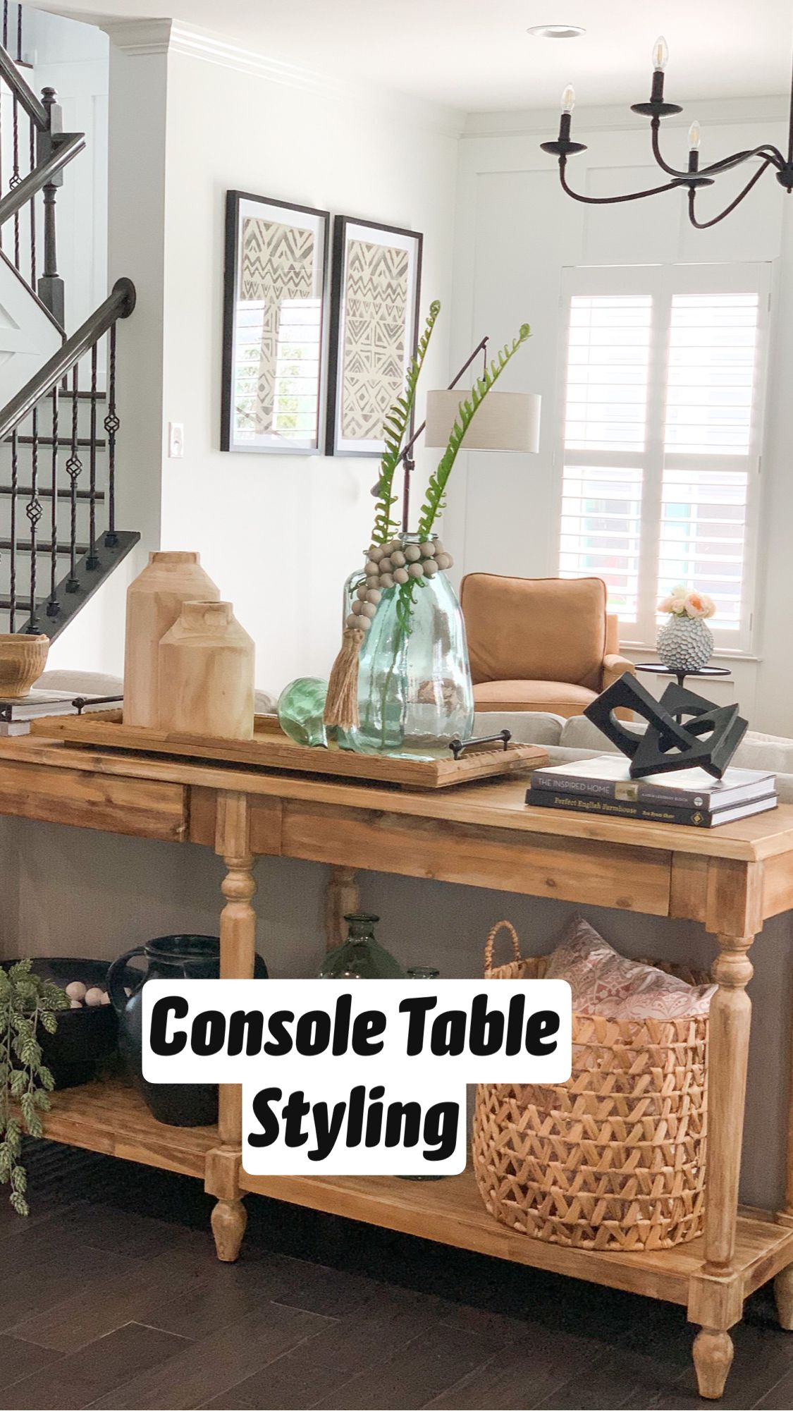 Photo of Console Table Styling