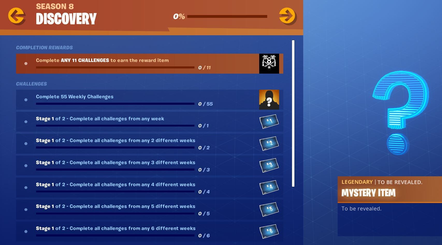 New Fortnite Discovery Challenges Now Available New